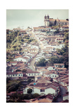 View Of The Unesco World Heritage City Of Ouro Preto In Minas Gerais Brazil Poster by Mariusz Prusaczyk