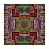 Native American Traditional Decorative Tribal Pattern Design Background Prints by  kgtoh
