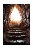 Exit Of A Cave In Archaeological Excavations Of Mycenae Posters af ollirg
