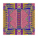 Native American Traditional Decorative Tribal Pattern Design Background Poster by  kgtoh
