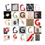 Collage With 25 Images With Letter G Prints by  gemenacom