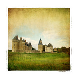 French Castle - Artistic Retro Picture Prints by  Maugli-l