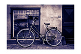 Classic Vintage Retro City Bicycle In Copenhagen, Denmark Premium Giclee Print by  mffoto