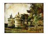 Chaumont Castle - Vintage Picture In Watercolor Style Prints by  Maugli-l