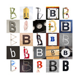 Collage With 25 Images With Letter B Posters by  gemenacom