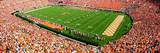 Tennessee Vols Panoramic Photo Photo
