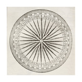 Wind Rose Old Illustration Posters by  marzolino