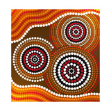 Australia Aboriginal Art Prints by Irina Solatges