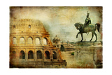 Great Rome - Artwork In Painting Style Prints by  Maugli-l