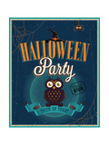 Halloween Party Poster Prints by  avean
