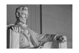 Abraham Lincoln Statue Detail At Lincoln Memorial - Washington Dc, United States Prints by  Orhan