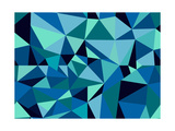 Unusual Abstract Geometric Seamless Pattern Posters by  cienpies