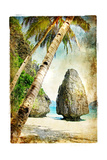 Tropical Nature - Artwork In Painting Style 高品質プリント :  Maugli-l
