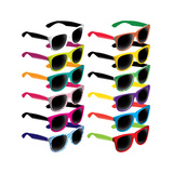 Set Of Colorful Retro Sunglasses Premium Giclee Print by  Rashomon