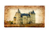 Castles Of France Vintage Series -Saumur Prints by  Maugli-l