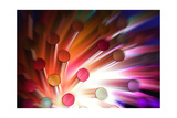 Colorful Abstract Background Poster by NejroN Photo