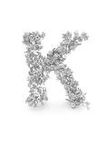 Shape Of Letter K Made From 3D Letters Prints by Dan Bolshakov