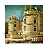 Le Lude Castle - Artistic Retro Picture Posters by  Maugli-l