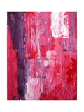 Pink And Purple Abstract Art Painting Prints by  T30Gallery