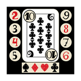Hand Drawn Deck Of Cards, Doodle Suit Poster by Andriy Zholudyev