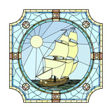 Illustration Of Sailing Ships Of The 17Th Century Art by  Vertyr