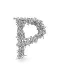 Shape Of Letter P Made From 3D Letters Prints by Dan Bolshakov