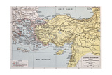 Athenian Empire Old Map Prints by  marzolino
