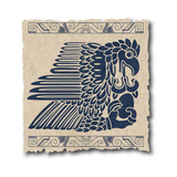 The Mayan And Inca Tribal On Old Paper Prints by  sdmix