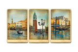 Beautiful Romantic Venice- Retro Cards Posters by  Maugli-l