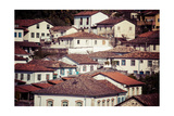 View Of The Unesco World Heritage City Of Ouro Preto In Minas Gerais Brazil Prints by Mariusz Prusaczyk