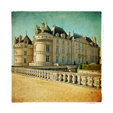 Le Lude Castle - Artistic Retro Picture Prints by  Maugli-l