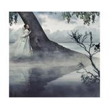 Fine Art Photo Of A Woman In Beauty Scenery Prints by  conrado