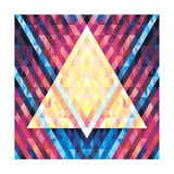 Geometric Pattern 02 Prints by  serkorkin