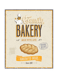 Vintage Bakery Poster Posters by  avean