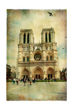 Notre Dame - Artwork In Painting Style Posters by  Maugli-l
