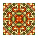 Square Decorative Design Element Prints by  epic44