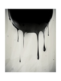 Abstract Oil Slick Flows With Drops Posters by  fet
