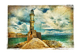 Artwork In Painting Style - Lighthouse Prints by  Maugli-l