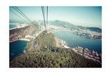 The Cable Car To Sugar Loaf In Rio De Janeiro Prints by Mariusz Prusaczyk