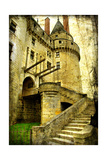 Medieval Castle- Picture In Retro Style Posters by  Maugli-l
