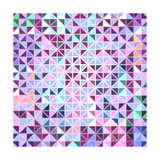 Colorful Mosaic Abstract Background Prints by  OlgaYakovenko