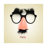 Picture Of Fake Glasses Premium Giclee Print by  nito