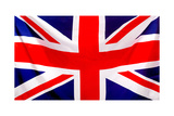 Union Jack Flag To Be Used As Background Prints by  andres