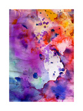 Abstract Grunge Texture With Paint Splatter Posters by  run4it