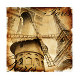 Parisian Details - Toned Picture In Retro Style Prints by  Maugli-l
