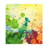 Abstract Watercolor Painting Blot Background Posters by Rudchenko Liliia