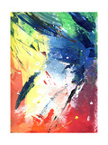 Abstract Painting With Expressive Brush Strokes Prints by  run4it