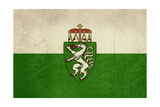 Grunge Austria State Of Steiermark Of Styria State Flag, Austria Prints by  Speedfighter