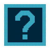 Question Mark Symbol On A Grid Digital Display Posters by  wongstock