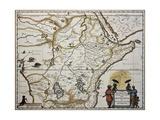 Ethiopia Old Map. Created By Joan Blaeu, Published In Amsterdam 1650 Kunstdrucke von  marzolino